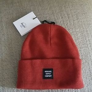 New! Herschel Supply Co Abbot Beanie in Picante